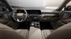 Ngắm nội thất sang chảnh và hiện đại của Kia K8 hoàn toàn mới