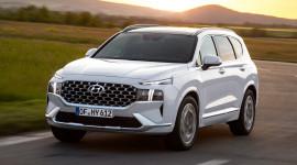 Hyundai Santa Fe 2021 có giá khởi điểm từ 55.900 USD