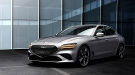 Genesis G70 2022 sắp ra mắt tại Mỹ: Thiết kế bắt mắt, công nghệ ngập tràn