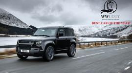 Land Rover Defender là mẫu xe được phái đẹp yêu thích nhất năm 2021