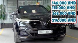 NGÃ NGỬA với chi phí bảo dưỡng định kỳ xe ô tô VinFast Lux