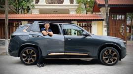 Lần đầu chạy thử VinFast President - Điều thú vị về SUV đầu bảng của hãng xe Việt