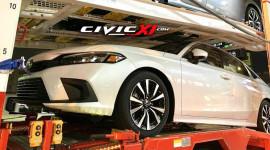 Thêm ảnh nóng Honda Civic 2022 trước khi ra mắt