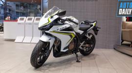 Cận cảnh Honda CBR500R phiên bản mới