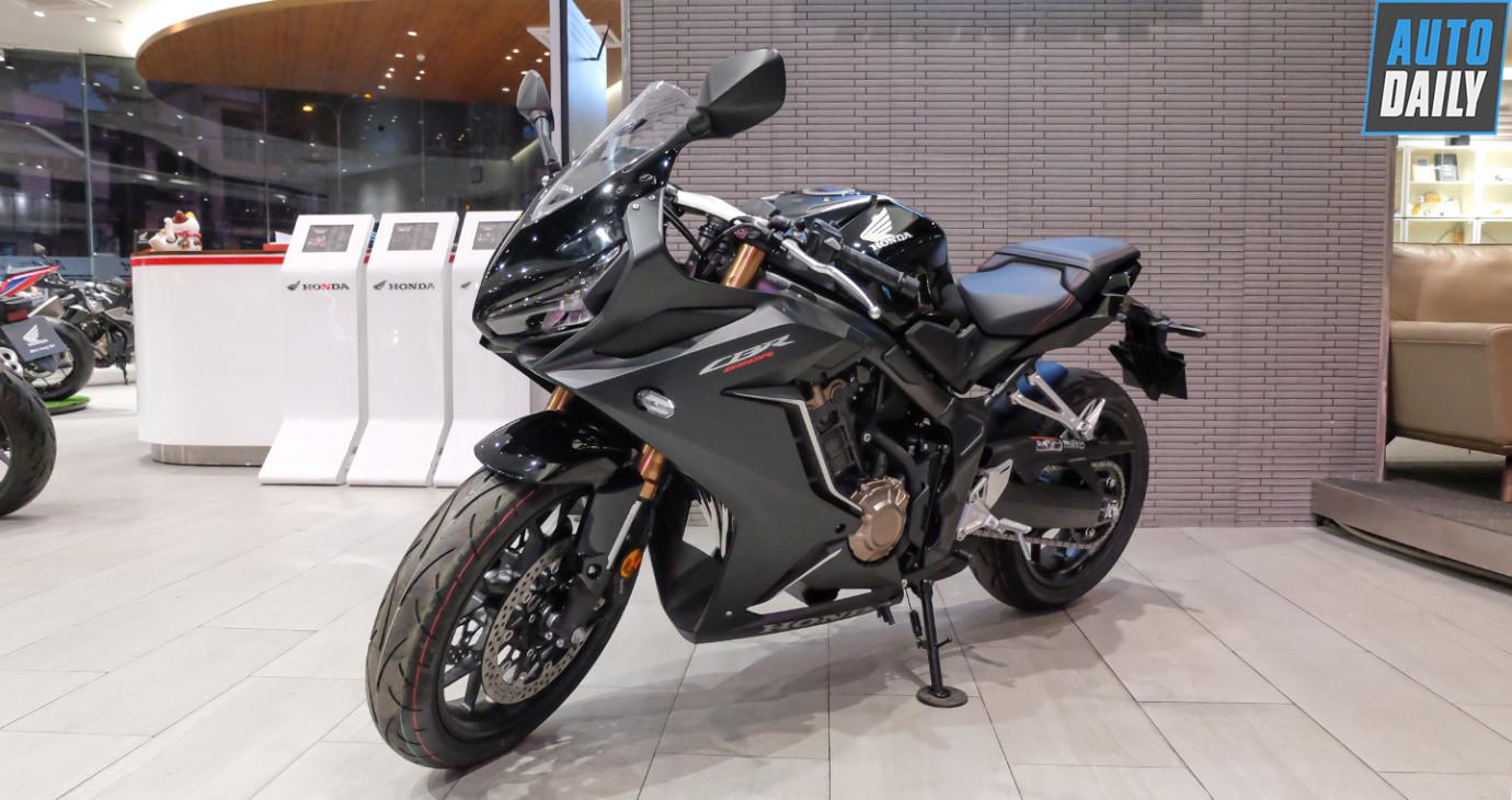 Honda CBR650R 2020 nâng cấp nhẹ, giá 254 triệu