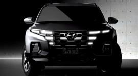 Hyundai nhá hàng Santa Cruz 2022: Mẫu bán tải nhỏ gọn rất bắt mắt