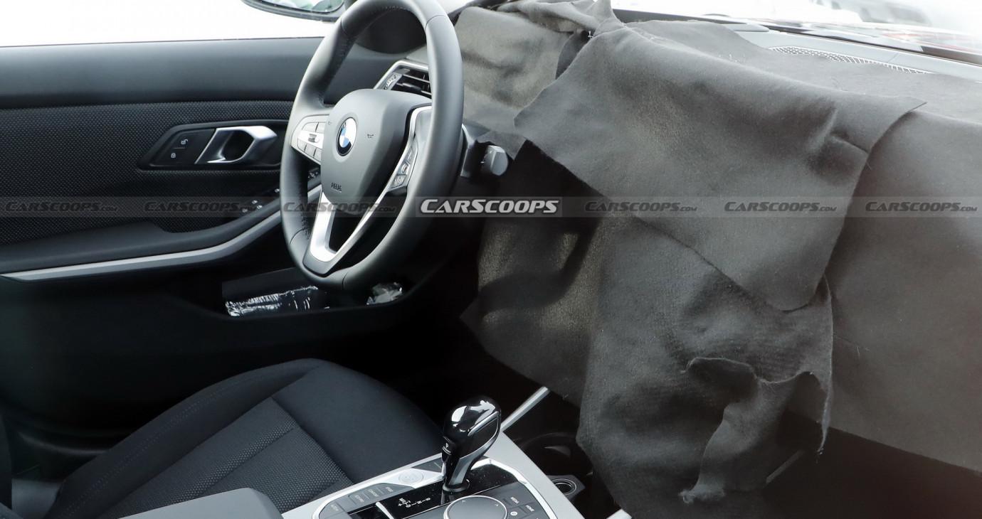 BMW 3-Series nâng cấp lộ nội thất mới với màn hình cong