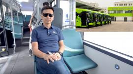 Thử làm hành khách trên VinBus - TẤT TẦN TẬT về xe buýt điện thông minh VinFast mà bạn muốn biết