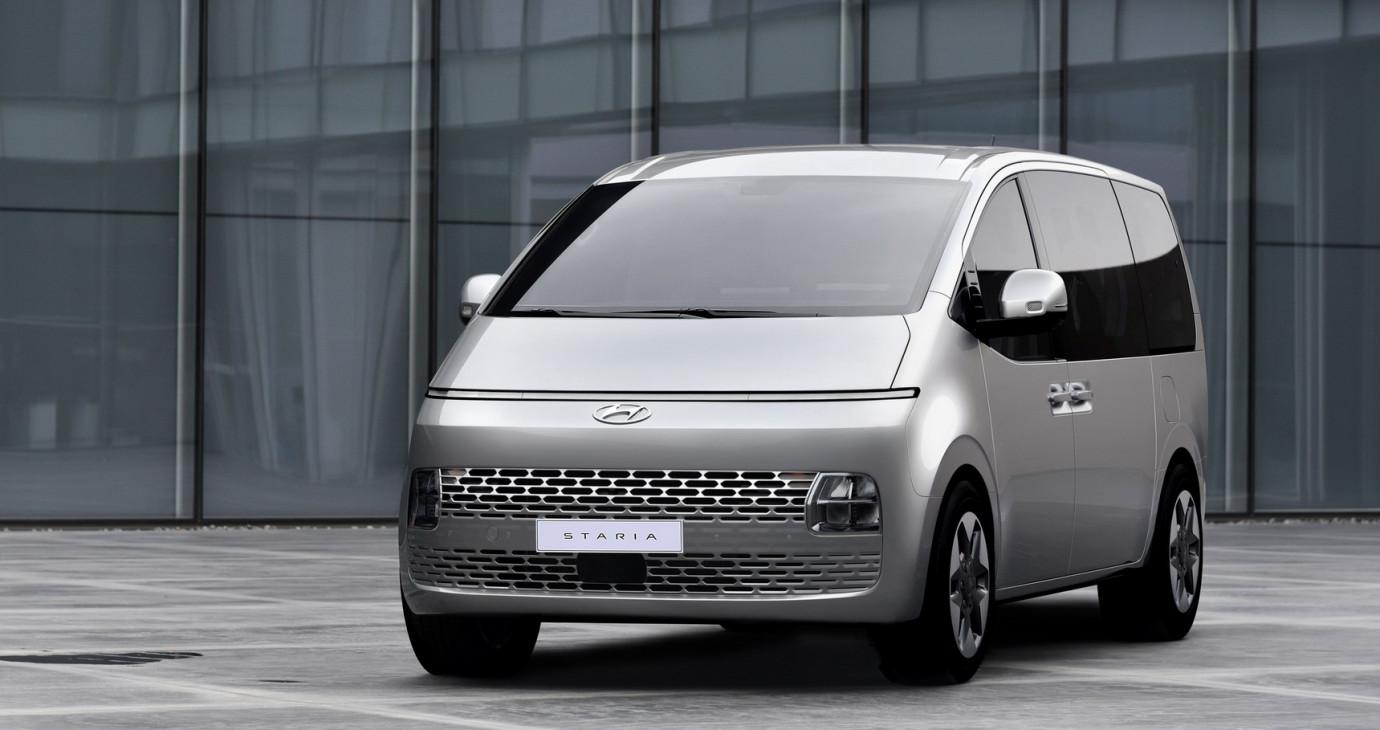 """Hyundai Staria 2022 - MPV """"dị"""" nhất thế giới"""