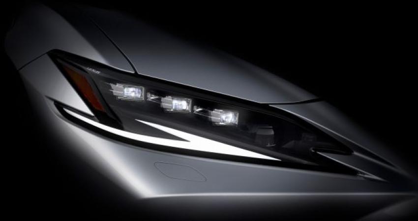 Lexus ES facelift sẽ ra mắt tại Triển lãm Thượng Hải 2021