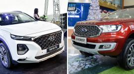Phân khúc SUV 7 chỗ tháng 3/2021: Cuộc so kè của Hyundai Santa Fe và Ford Everest