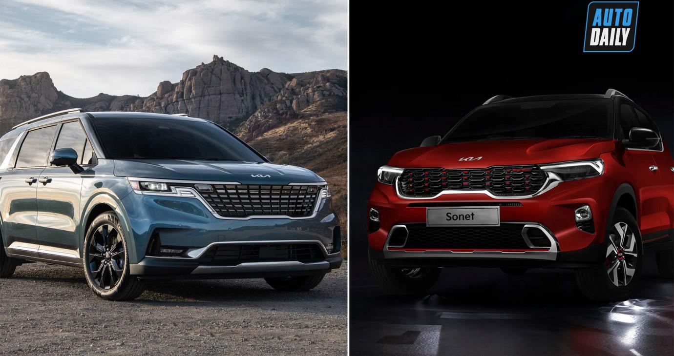 Bộ đôi xe hot Kia Sedona 2022 và Sonet 2021 sắp ra mắt tại Việt Nam?
