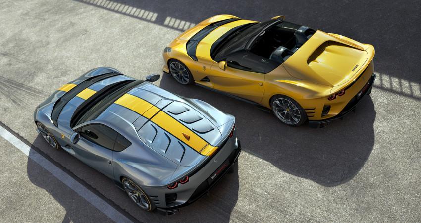 Tất tần tật về bộ đôi siêu xe Ferrari 812 Competizione và 812 Competizione A