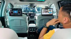 Lắp màn hình ô tô giải trí - Nâng cấp hàng ghế sau Kia Sorento, VinFast Lux SA lên hạng thương gia