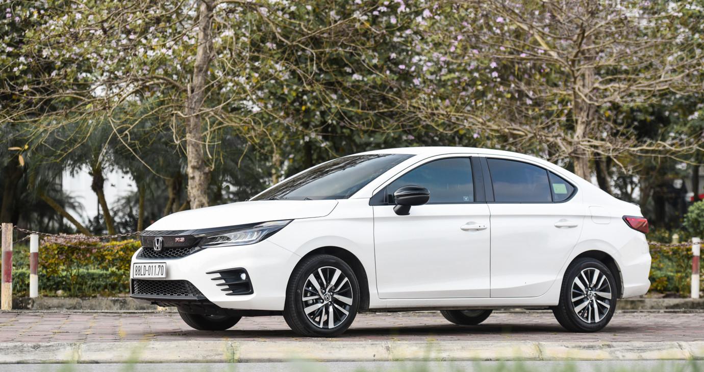 Tháng 4/2021: City tiếp tục là mẫu xe bán chạy nhất của Honda Việt Nam