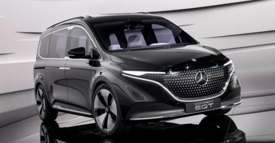 Mercedes EQT Concept ra mắt: Bản xem trước của mẫu minivan T-Class chạy điện