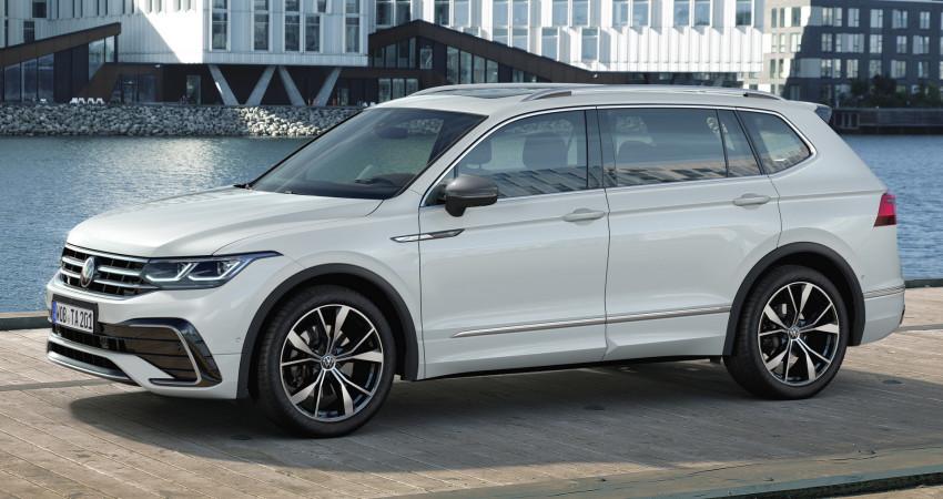 VW Tiguan Allspace 2022 ra mắt: Thiết kế mới, nội thất cao cấp hơn