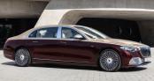 Mercedes-Maybach S680 2022 lộ diện với động cơ V12