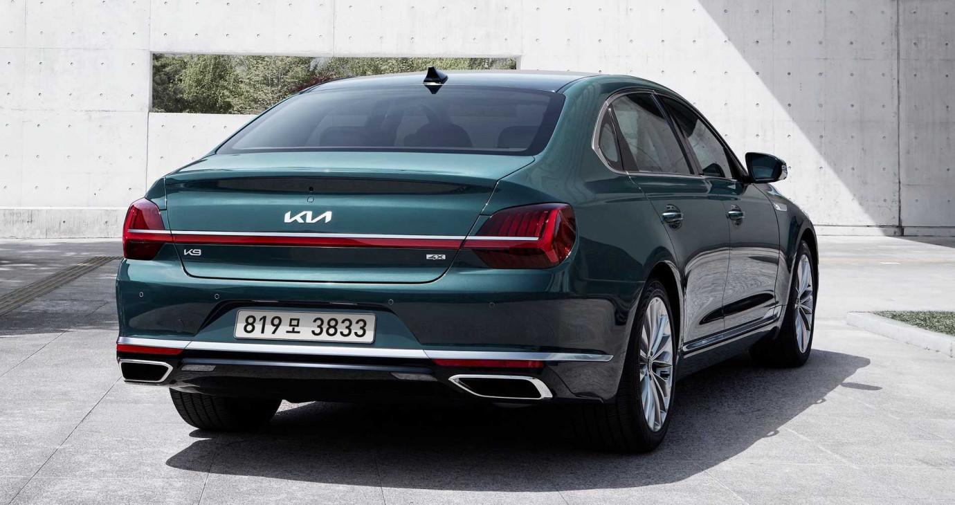 Kia K900 2021 facelift chốt giá từ 51.000 USD