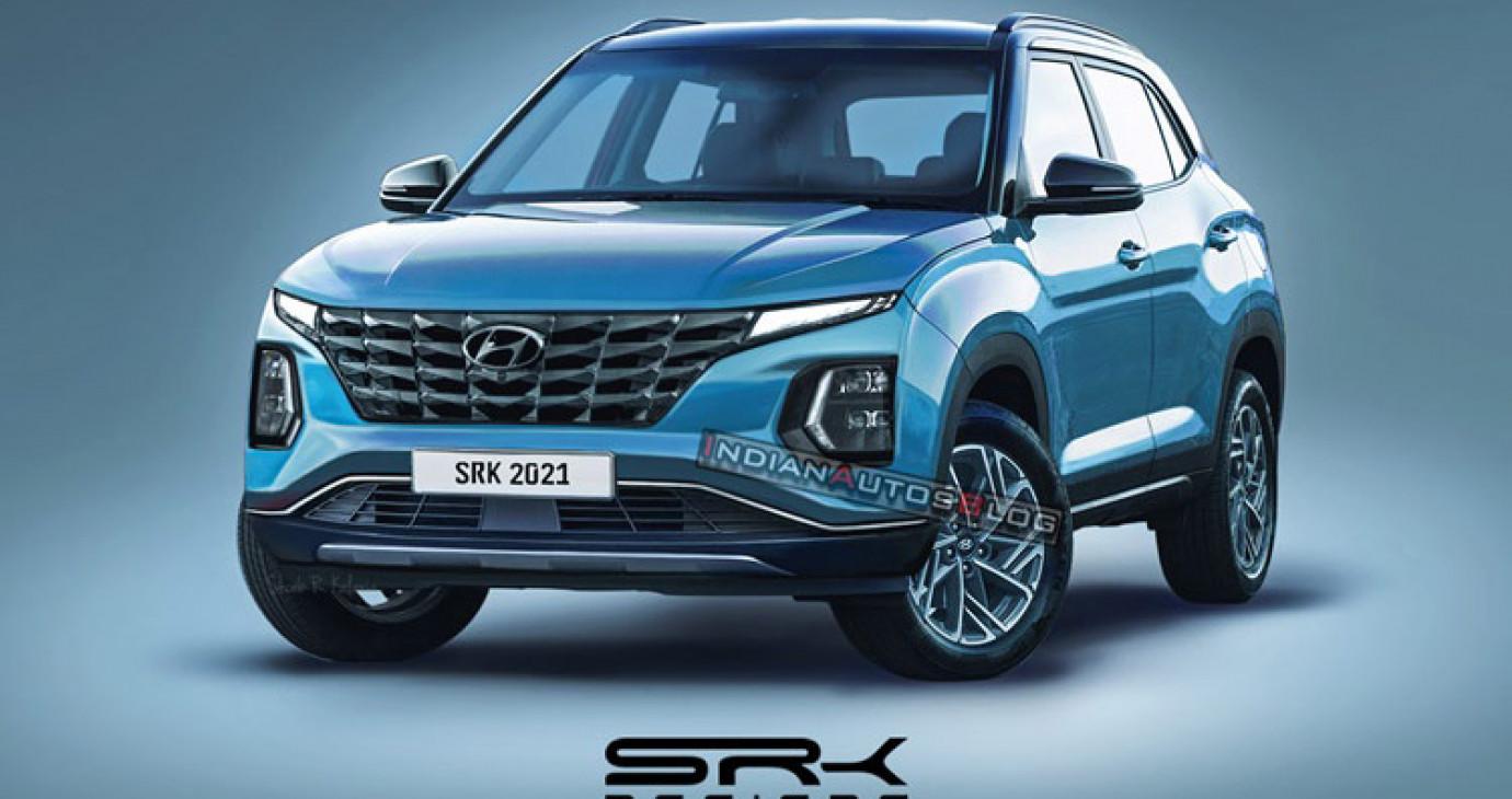 Xem trước thiết kế Hyundai Creta 2022: SUV đẹp long lanh, nếu về Việt Nam sẽ cực hot