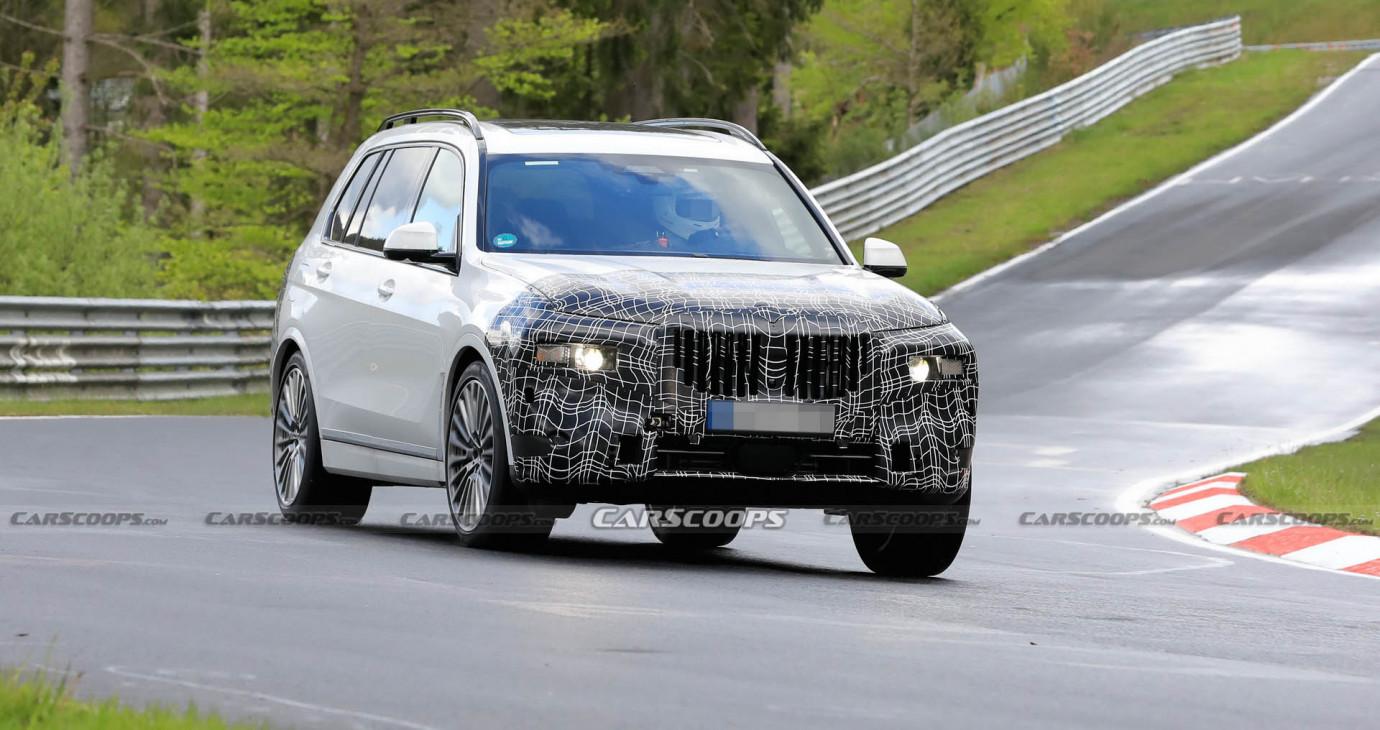 BMW X7 2022 lộ diện trên đường thử