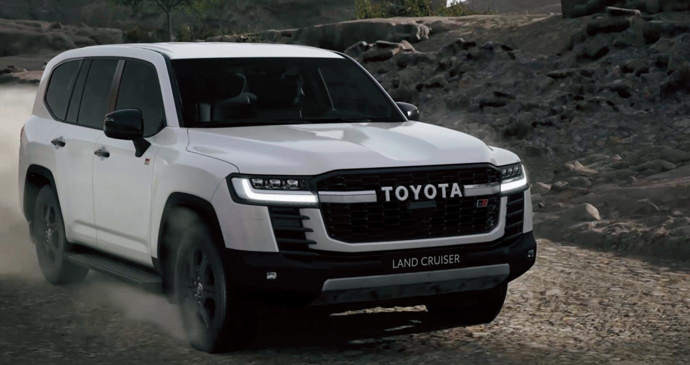 Ngắm chi tiết Toyota Land Cruiser 2022 vừa ra mắt