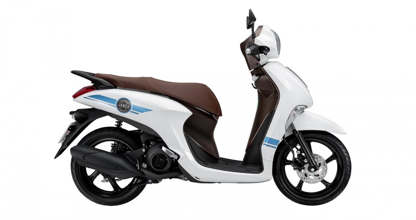 Yamaha Janus phiên bản giới hạn với 4 màu sắc hoàn toàn mới, giá không đổi