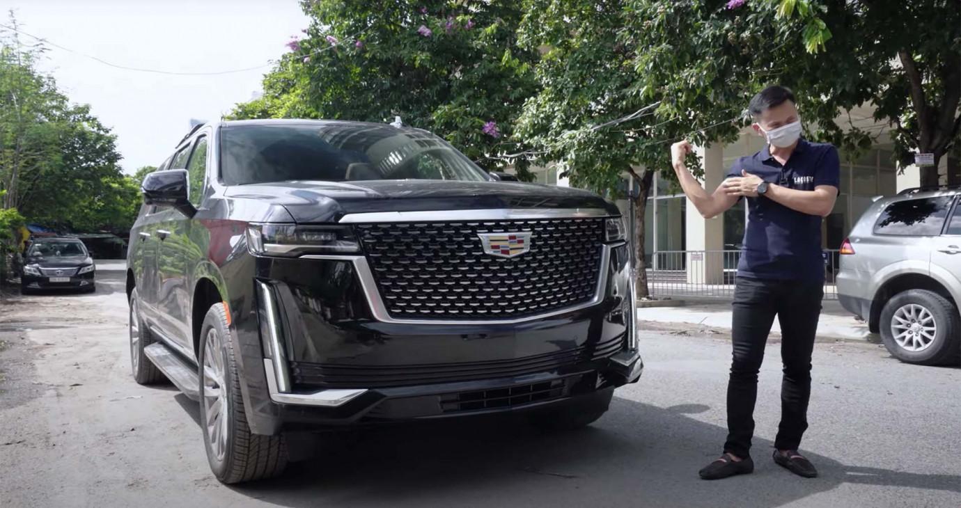 """Trải nghiệm nhanh """"hàng nóng"""" Cadillac Escalade 2021 đầu tiên về Việt Nam"""