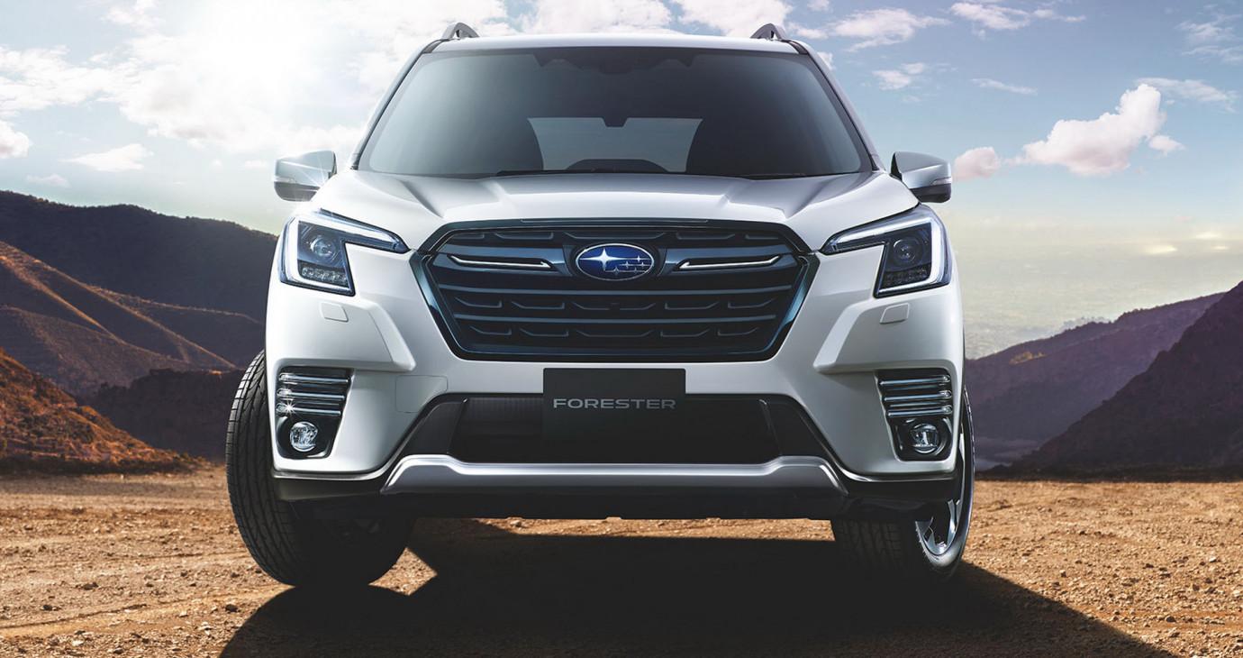 Subaru Forester 2022 ra mắt tại Nhật với nhiều nâng cấp, chờ về Việt Nam