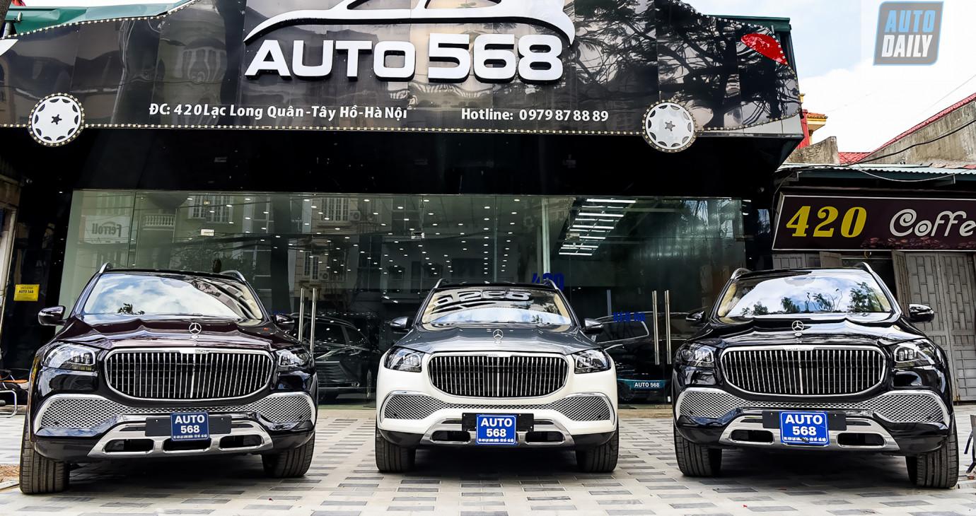 Showroom nhập một lúc 3 chiếc GLS600 Maybach, khách đặt tiền có xe đi ngay