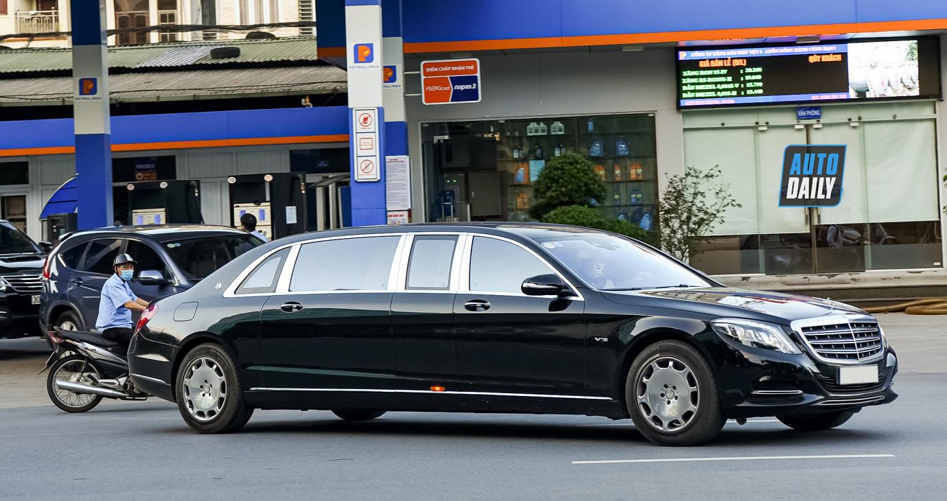 Những hình ảnh ấn tượng về siêu xe và xe sang (P4): Siêu phẩm Maybach S600 Pullman