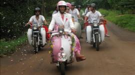 Những màn rước dâu đặc biệt với xe tại VN