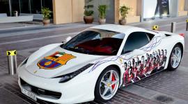 "Fan Barcelona ""độ"" Ferrari 458 Italia"
