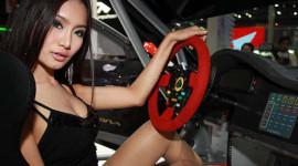 Nét quyến rũ của gái Thái tại triển lãm Bangkok 2012