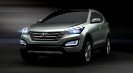 Hyundai Santa Fe 2013 lộ diện toàn phần