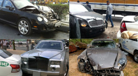 Danh sách siêu xe tai nạn tại VN ngày càng dài