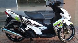 Yamaha Nouvo có tiếng hú to ở phần bánh sau