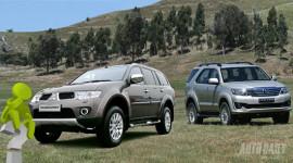 Pajero Sport G 2WD vs Fortuner V 2WD - Chất lượng vs Thương hiệu