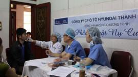 Hyundai Thành Công chung tay làm từ thiện