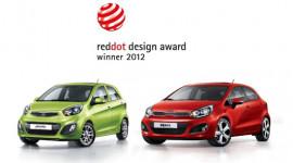 Kia Rio và Morning giành giải Red Dot Design