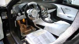 Ngắm siêu xe Bugatti Veyron bọc carbon