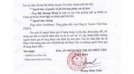 Tổng giám đốc Toyota Việt Nam sẽ phải ra tòa