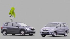 So sánh Chevrolet Orlando LTZ và Toyota Innova G 2012 tại Việt Nam