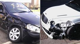 Balotelli thoát chết sau cú đâm xe Bentley