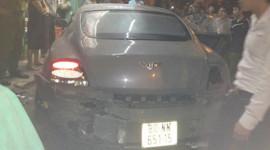 Xót xa nhìn siêu xe Bentley tan nát tại Hải Phòng