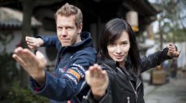 Xem Sebastian Vettel đóng phim chưởng