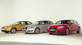 Bước tiến hóa phong cách Audi A3 qua 3 thế hệ