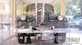 """Ngắm chiếc xe """"siêu chống đạn"""" đã từng chở Hồ Chủ tịch"""