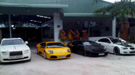 """""""Choáng"""" với Garage dành cho siêu xe ở Sài Gòn"""