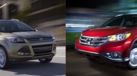 Ford Escape 2013 vs Honda CR-V 2012: Cuộc chiến ngôi vương
